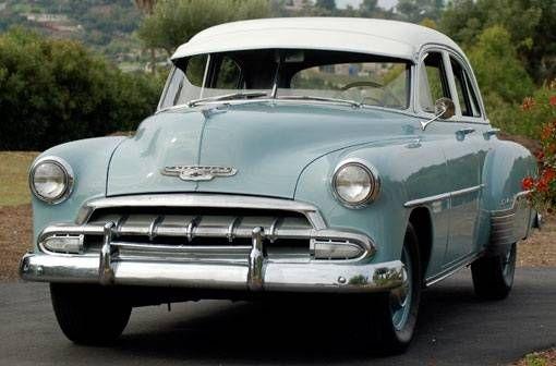 1952 chevrolet 4 door sedan my dad 39 s first new car it for 1952 chevrolet styleline deluxe 2 door sedan