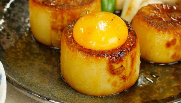 この分厚さド迫力!「ガリバタ大根ステーキ」のジューシーさに驚愕せよ - macaroni