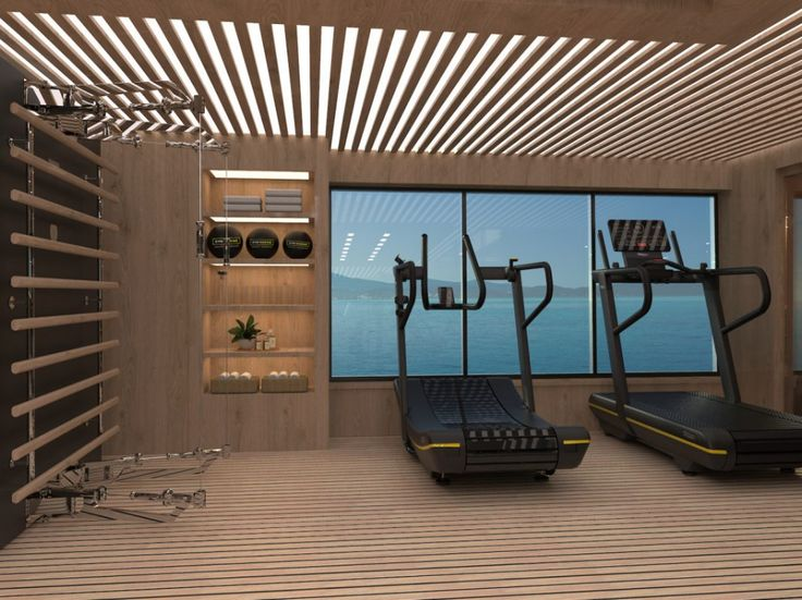 Our Top 5 Yacht Gym Designs