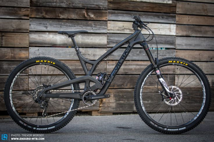The new Insurgent packs 151 mm of rear suspension and looks deadly