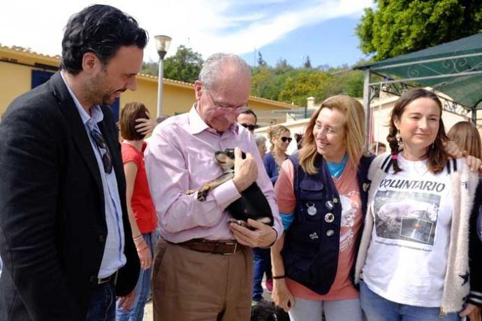Ayer organizó unas jornadas de puertas abiertas para colaborar con el refugio - Asistieron cerca de 500 personas