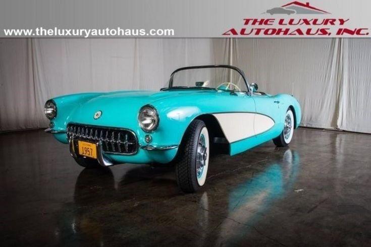Nice Great 1957 Chevrolet Corvette -- 1957 Chevrolet Corvette  1 Miles Cascade Green 2018