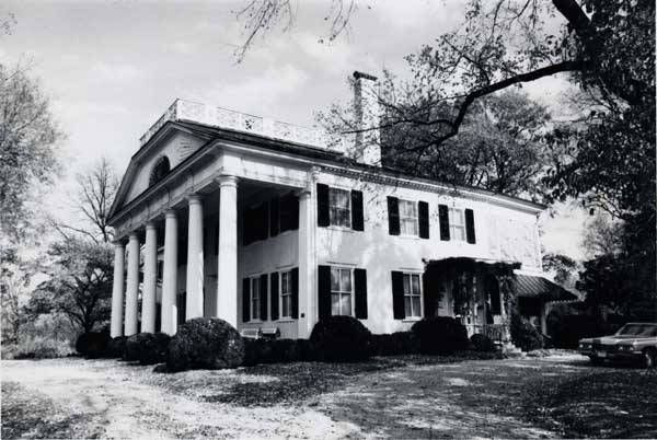 The LeRoy Pope Mansion built 1815 by architect George Steele