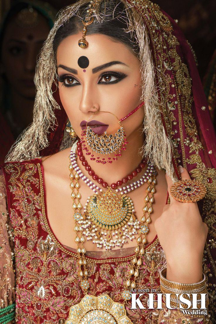 Ayyan ali bridal jeweller photo shoot design 2013 for women - Indian Bridal Jewelry India Jewelry Makeup Photography Wedding Photography Eyeshadow Makeup Indian Weddings Booking Information Signature Look