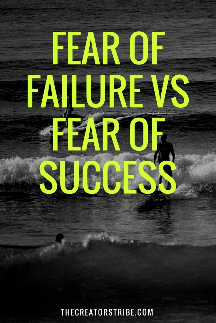 Fear of Failure vs Fear of Success | LEAP OF FAITH