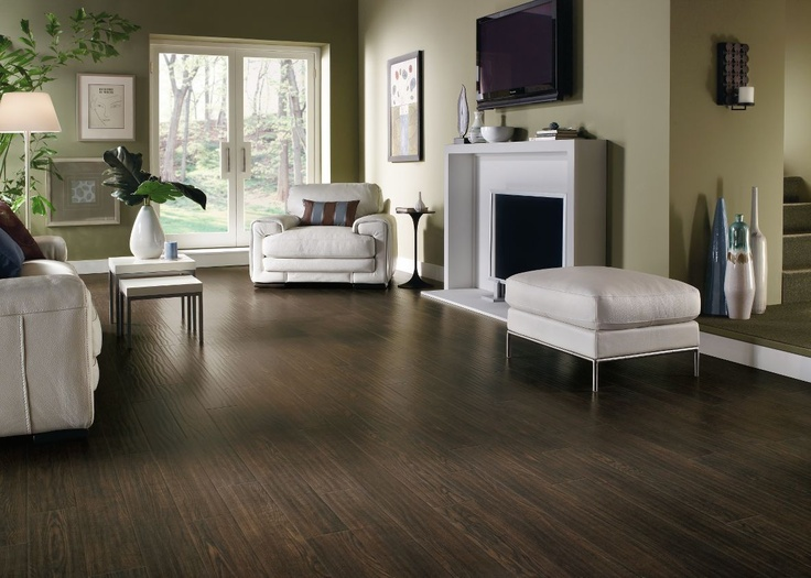 this is the dark wood color im aiming for in our living room - Dark Tiles Living Room