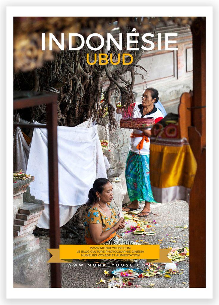 4 jours à Ubud Kecak, rizières, Monkey Forest, marché Pasar Ubud...