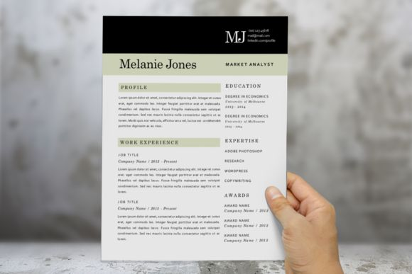 43 best CV templates images on Pinterest Resume, Curriculum and - resume 1 or 2 pages