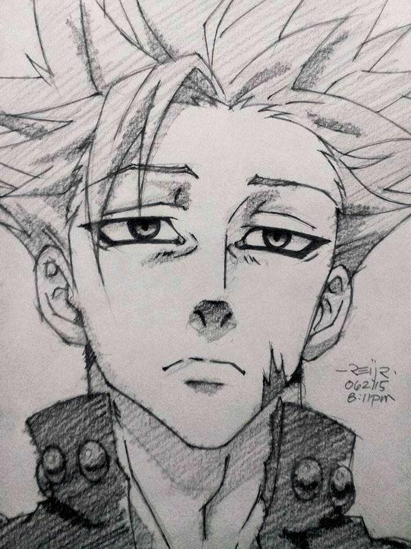 Los Siete Pecados Capitales Arte De Anime Dibujos Anime 7 Pecados Capitales