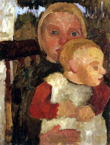 Paula Modersohn-Becker - Two Children