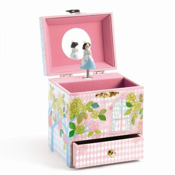 Djeco Spieluhr Turm der Prinzessin - Bonuspunkte sammeln, auf Rechnung bestellen, DHL Blitzlieferung!