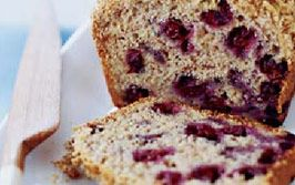 Aronia Berry Banana Bread