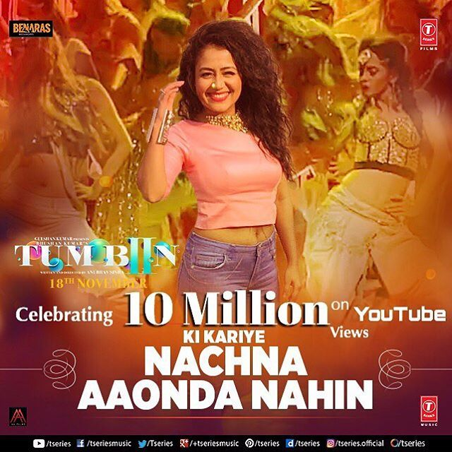 #NachnaAundaNahin #10Million Views on #Youtube