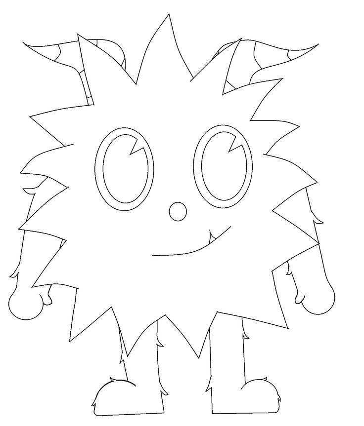 seven little monsters coloring pages - photo#4