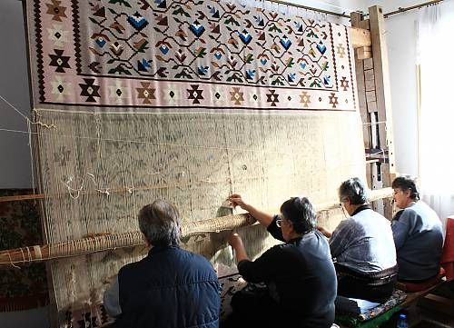 Carpet-making in Chiprovtsi, Bulgaria
