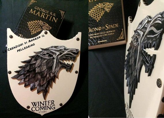 Shield House Stark game of Thrones-Game of thrones
