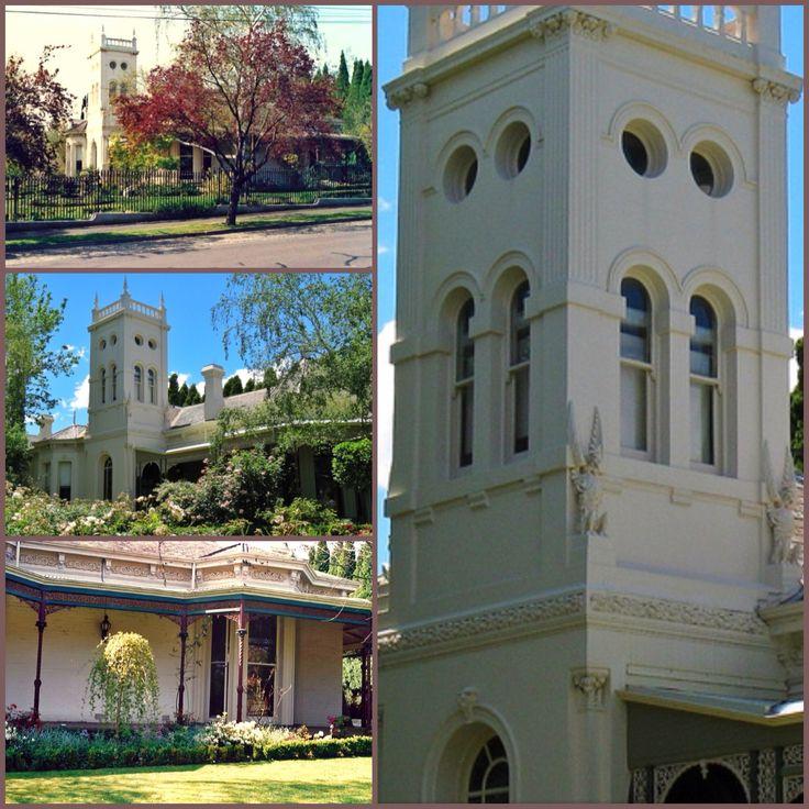 Kinniel, Hawthorn (Melbourne), Is A Large Single-storey