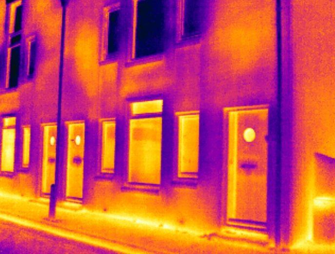 Vanmorgen even voor zonsopkomst was Energiekeurplus bij zorgcentrum De Wieken in #Zierkzee voor een #thermografie inspectie.