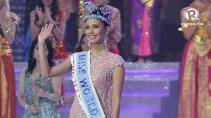 Megan Lynne Young, a Filipino-American who represented the Philippines in Miss World 2013 and won