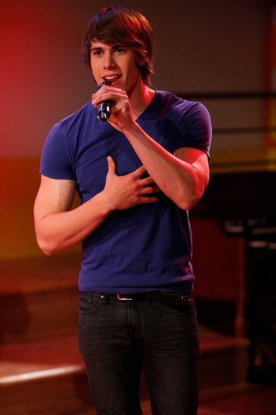 Blake Jenner in The Glee Project. i hope he wins