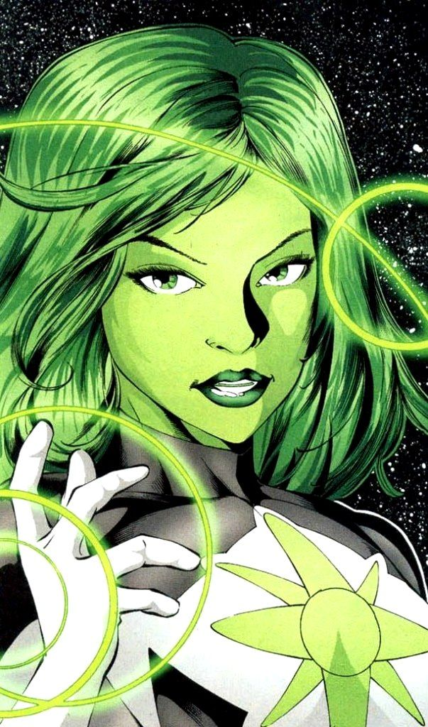 This is the Jade disambiguation page. Jade is a superhero imbued with mystical green energy. Her father was the original Green Lantern, and his connection to the Starheart energy through his power ring was pas Multiverse