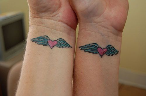 Good size....Google Image Result for http://creativefan.com/important/cf/2012/05/matching-tattoos-for-sisters/matching-heart-with-wings-tattoo.jpg