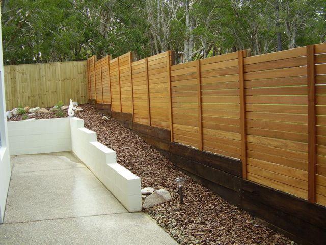 timber fences fencescape fencing screens pinterest. Black Bedroom Furniture Sets. Home Design Ideas