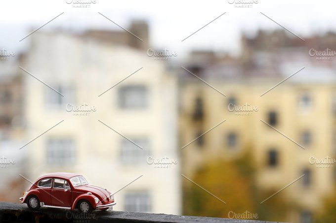 Beetle in the old town by tabby on @creativemarket
