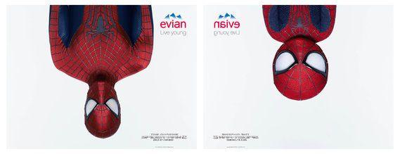 Vuelve #Evian con un Spiderman-bebé #Publicidad
