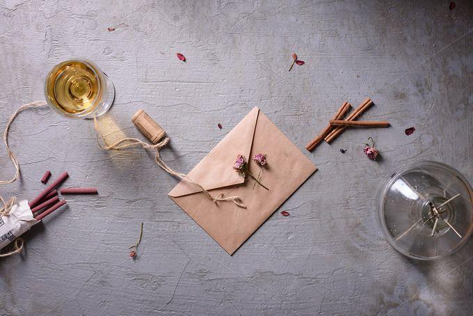 Love letter, romantic theme by Iuliia Leonova on @creativemarket