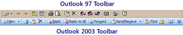 Icons need text - Microsoft Outlook