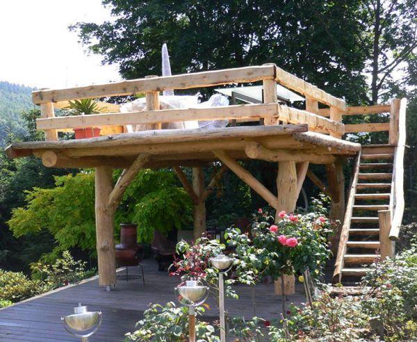Terrassen Bauen Bauen Landschaftsbausichtschutz Terrassen Pergola Backyard Backyard Landscaping