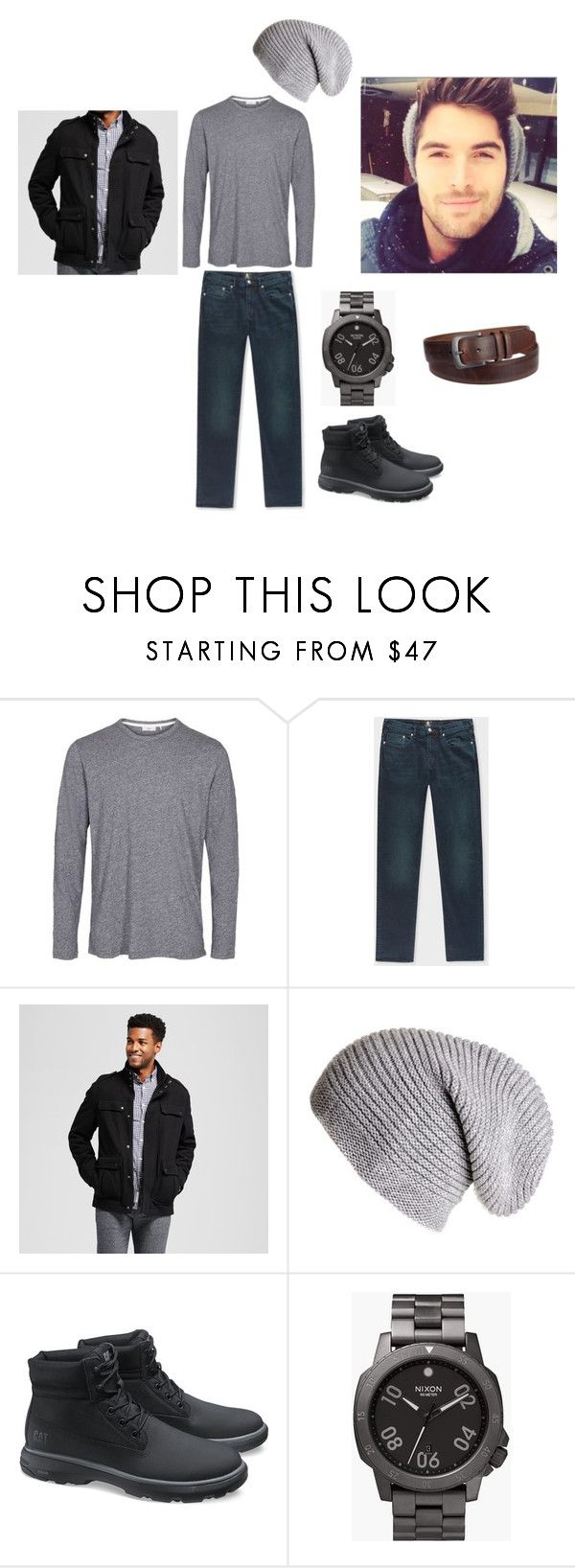 """Luca Bae - Fundraiser"" by logikitty on Polyvore featuring PS Paul Smith, Black, Caterpillar, Nixon, Croft & Barrow, men's fashion and menswear"