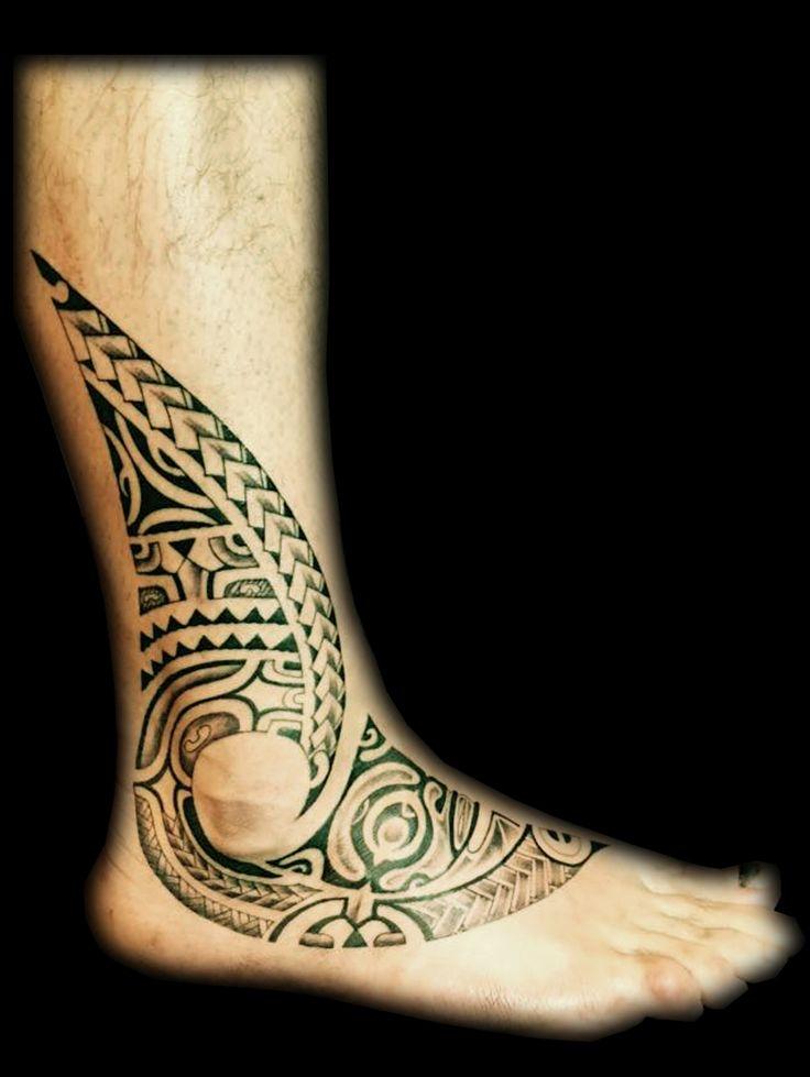 Maori Ankle Tattoo: 39 Best TATTOOS By TA TIKI TOA Images On Pinterest