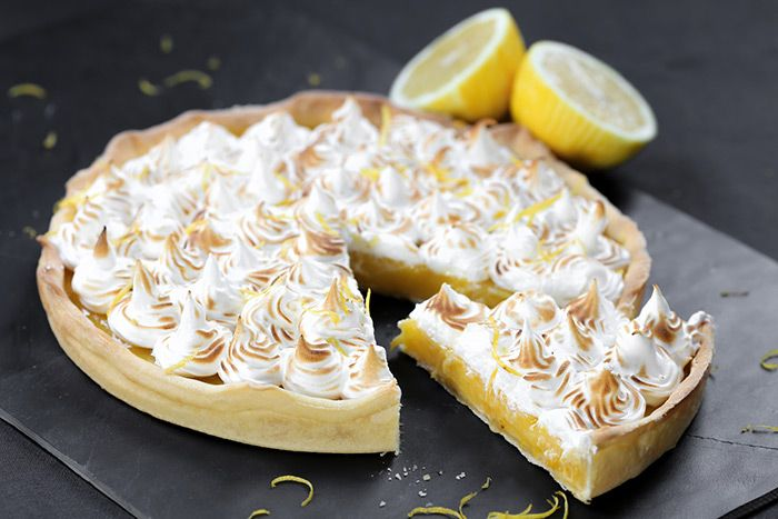 Deliciosa receta de tarta de limón con merengue, te enseño cómo hacerla de forma fácil paso a paso! Apetitosa a cualquier hora del día!
