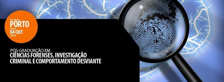 | FORMAÇÃO CONFIRMADA | VAGAS LIMITADAS |  Pós-Graduação em Ciências Forenses, Investigação Criminal e Comportamento Desviante - 9ª Edição | Porto  Ultimas Inscrições em http://www.institutocriap.com/ensino/posgraduacoes/porto/1041-formacao-criminologia-pos-graduacao-em-ciencias-forenses-investigacao-criminal-e-comportamento-desviante-9o-edicao