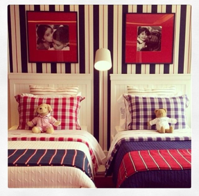 Room Sharing On Pinterest Bed Placement Boys And Girls Shared