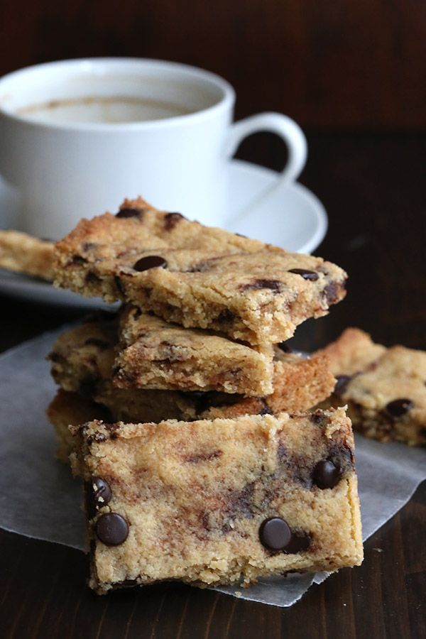 browned butter chocolate chip blondies chocolate chip blondies ...
