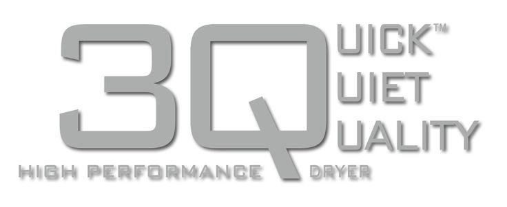 3Q High Performance Dryer - Quick, Quiet, Quality. http://www.vssassoon.com.au/3Q-hairdryer/