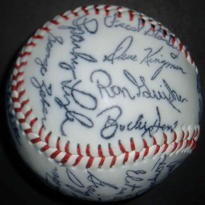 1977 new york yankees | 1977 New York Yankees Facsimile Autograph Souvenir Baseball