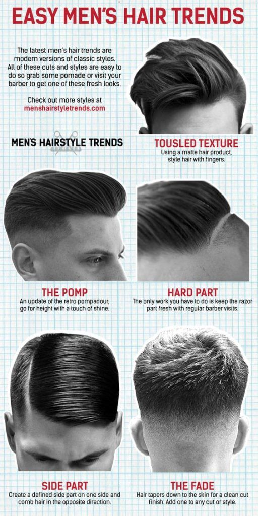 バーバー系の刈り上げヘアスタイル特集
