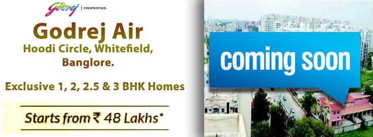 Godrej Air Hoodi is a well-known player in this industry offering finest craftsmanship along with an affordable price-tags to make many middle – class families dream of staying in an upmarket locality with all the amenities and advantages come true.   Contact us: +91-8553159202