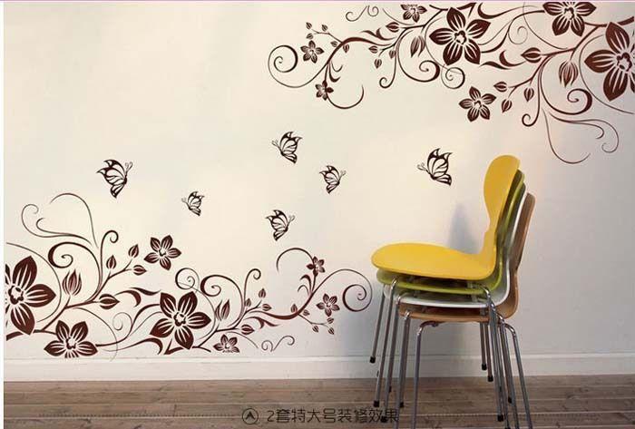 dibujo pared