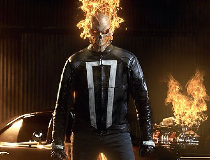 Official Marvel's Ghost Rider Agents of Shield Season 4th #ABC