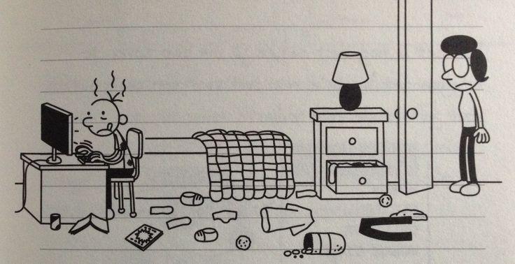 Pin 3: Bram Botermans (hoofdpersoon) is helemaal gek van een computerspel dat Webtroetels heet. Elke seconde dat hij de kans krijgt zit hij in zijn kamer dat spel te spelen. Zijn moeder is er niet blij mee en als je naar de kamer kijkt ziet het eruit als een vuilnisbelt.
