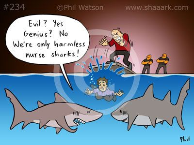 66 best images about Shark cartoons - 24.9KB
