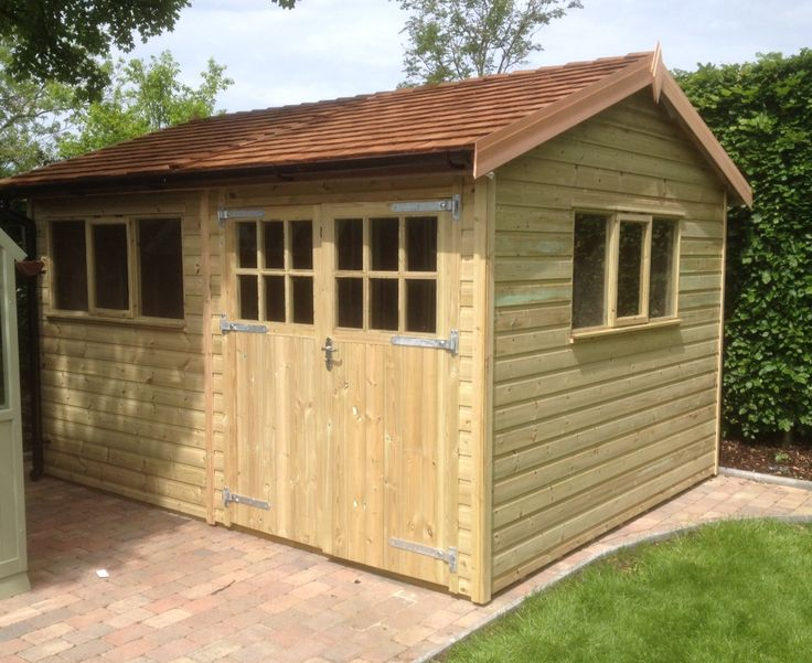 Our wooden and timber pressure treated timber heavy duty workshops and sectional buildings relieve save you re-treating your timber workshop and sheds. Using tanalised pressure treated timber these are high quality timber buildings and have strength,