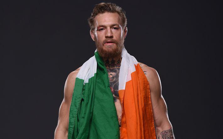Download imagens Conor McGregor, Irish fighter, MMA, retrato, campeão do UFC, Connor Anthony McGregor