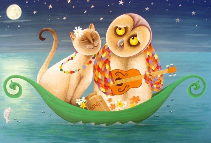 Julia Donaldson Reveals What Happened Next To The Owl And The Pussycat