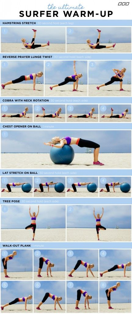 """""""HOW TO GET A SURFER'S BODY!"""" You do not need to surf to get the results from this fun workout circuit. Created by Celebrity Trainer - Monica Nelson. www.monicanelsonfitness.com"""